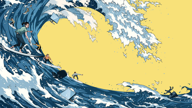 How to Ride the Great Resignation Wave