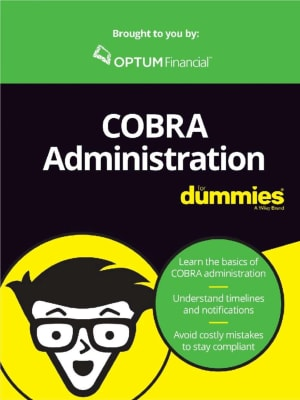 COBRA Administration For Dummies®