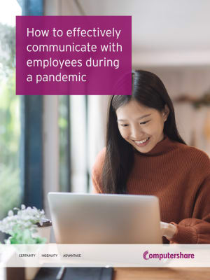Effectively Communicate with Staff in a Pandemic