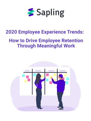 2020 Employee Experience Trends:  How to Drive Employee Retention