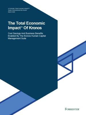The Total Economic Impact of Kronos