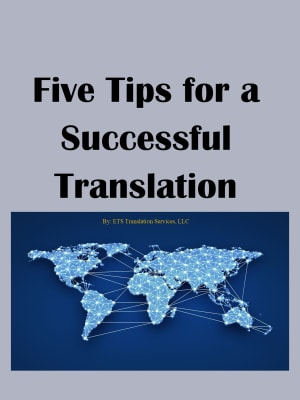 5 Tips for a Successful Translation