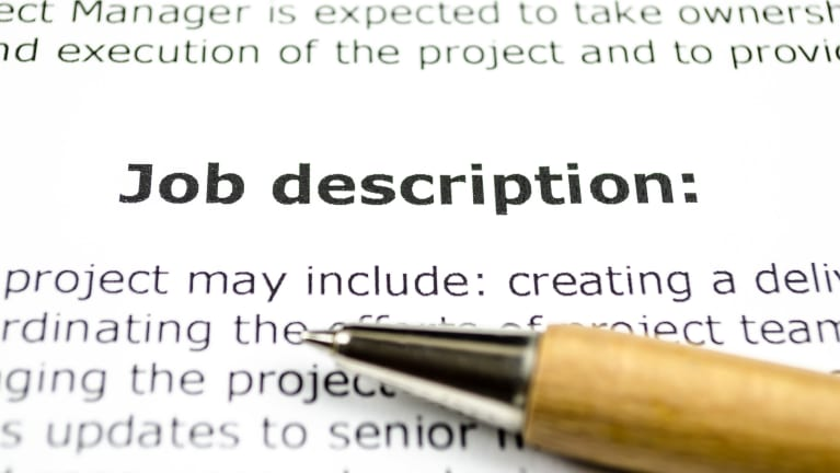 Job Description Manager