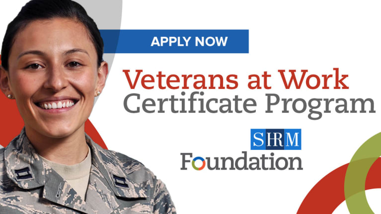 Veterans At Work Certificate Program