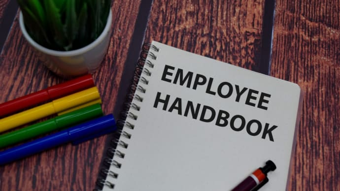 Let our Employee Handbook Builder assist you. It includes legally binding policies and the most up-to-date state and federal requirements.