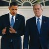 President Obama and former President George W. Bush