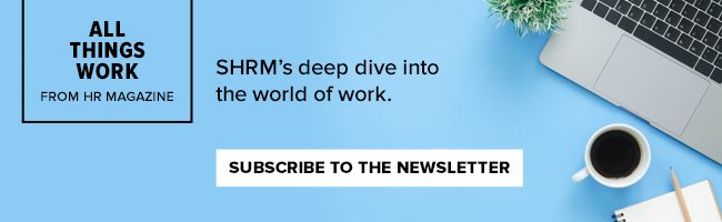 Subscribe to the All Things Work Newsletter