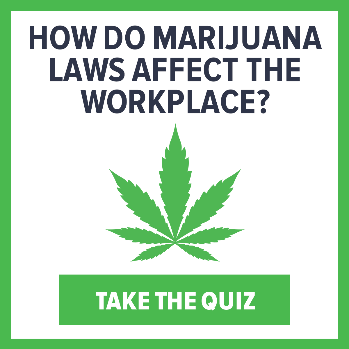 Marijuana and the Workplace: It's Complicated